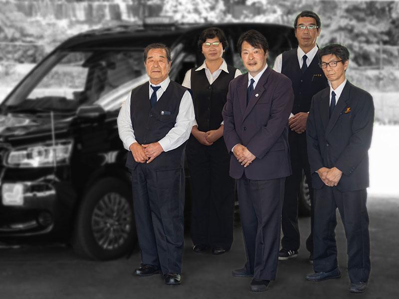 昭和交通ドライバー集合写真